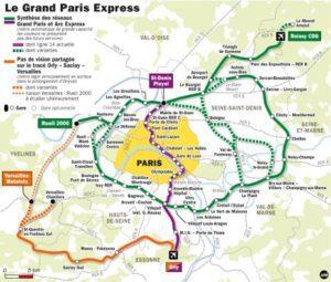 Projet du grand paris 2017 2042