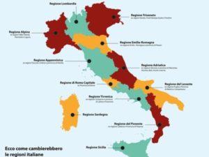 riduzione delle regioni mappa proposta pd 2 1 2 600x450 1