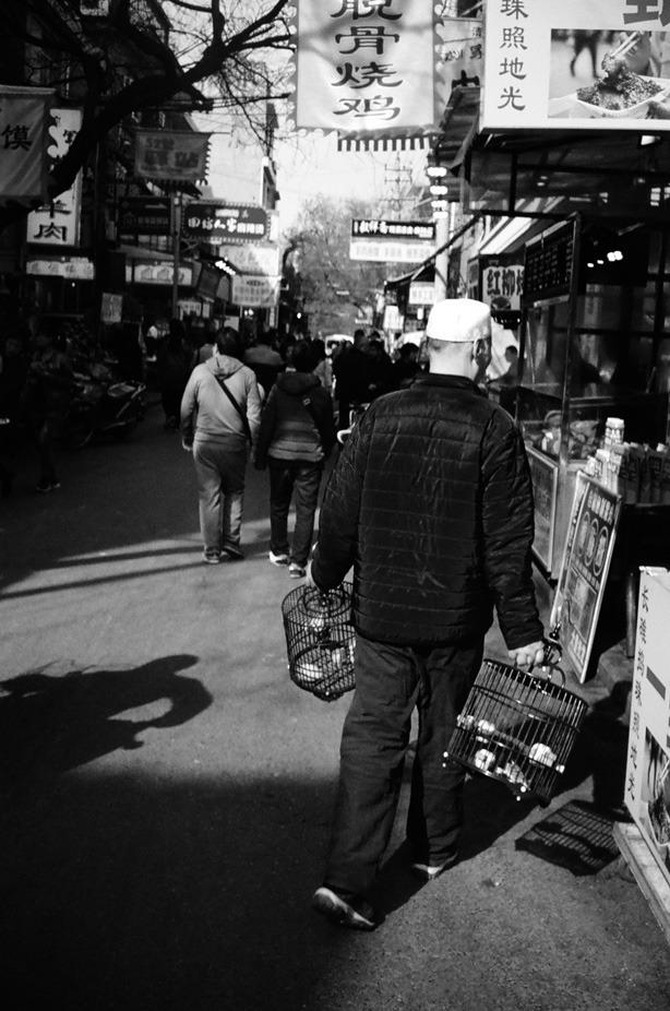 Barrio musulman de Xian 2019